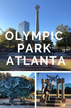 We love to see Olympic Sites (especially one from the Summer Olympics) so I couldn't pass up see the Atlanta Centennial Olympic Park with the torch (since I was there to see a swim meet, I was able to see the Olympic pool at Goergia Tech University. Centennial Olympic Park Atlanta, Atlanta Olympics, Yoga Asanas Names, Olympic Sites, Georgia Usa, Atlanta Georgia, Swim Meet, Summer Olympics, Beach Trip