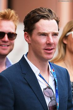 Benedict Cumberbatch en el Gran Premio de Mónaco F1 2014 | Benedict Cumberbatch en Español