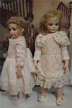 Платья для антикварной куклы или реплики . / Антикварные куклы, реплики / Шопик. Продать купить куклу / Бэйбики. Куклы фото. Одежда для кукол