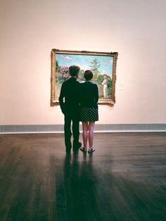 one day we'll stand together in front of our fav painting for hours ...