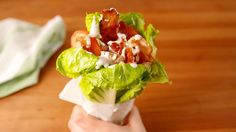 Chicken Bacon Ranch Lettuce Wrap