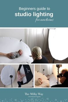 Beginners Guide to Studio Lighting for Newborns - The Milky Way