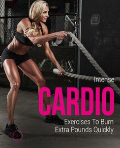 Have you ever thought which Cardio Workouts will help you to burn extra pounds faster? : #cardio