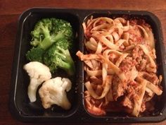 better option , spaghetti in light version + steamed veggies :)