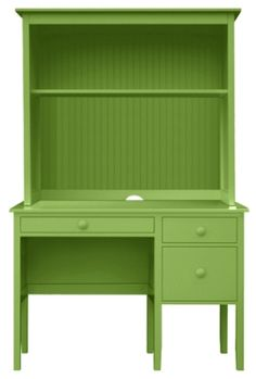 Little Cay Desk with Beadboard Hutch by Maine Cottage Furniture. My favorite furniture. Maine Cottage Furniture, Home Furniture, Office Furniture, Furniture Ideas, Wood Office Desk, Painted Hutch, Cheap Furniture Stores, Cottage In The Woods, Desk Hutch