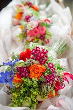 bouquets....