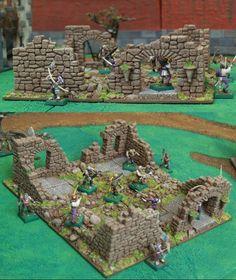 Hirst Arts, Game Terrain, Wargaming Terrain, D Craft, Tabletop Rpg, Medieval Town, Ancient Ruins, Airsoft, Bricks