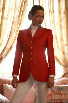 Lovely red riding jacket!