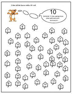 number hunt worksheet for kids (1) | Crafts and Worksheets for Preschool,Toddler and Kindergarten