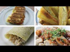 Pão rápido e saudável l 3 ingredientes l Coizinha Funcional - YouTube