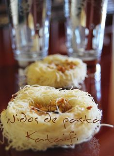 Un descubrimiento: Pasta Kataifi