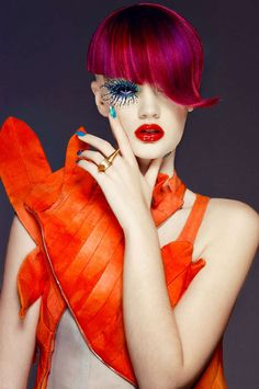 The Long Tran Culture Magazine Editorial is Circus Inspired
