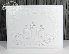 Fast, Quick, Fairly Clean and Simple Christmas Cards