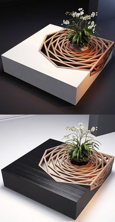 Wisely made contrast between color of the floor and table. If table was in any other darker/lighter color, floor would swallowed it and table would not come to the fore. Think about this when you choose coffee table.