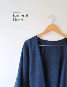 A DIY slouchy kimono (for the beginner sewer in all of us) to wrap up in this fall! Read more...