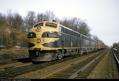 RailPictures.Net Photo: Erie 711 Erie Railroad EMD F7(A) at Ridgewood, New Jersey by Bob Krone