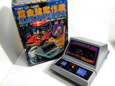 80s Retro Tomy FL LSI Tabletop Game Lupin Boxed Made in Japan Great Condition #Tomy