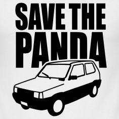 Save the Panda 1clr T-Shirts