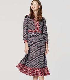 Thumbnail Image of Primary Image of Autumn Bloom Midi Dress