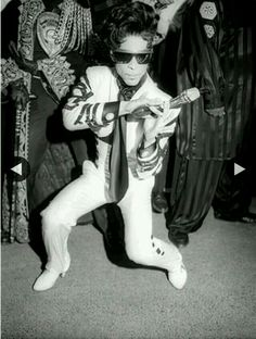 """Prince during """"The Gold Experience."""""""