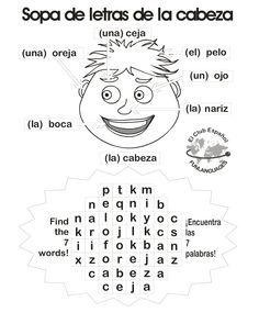Spanish Colors (Los Colores) Crossword & Word Search