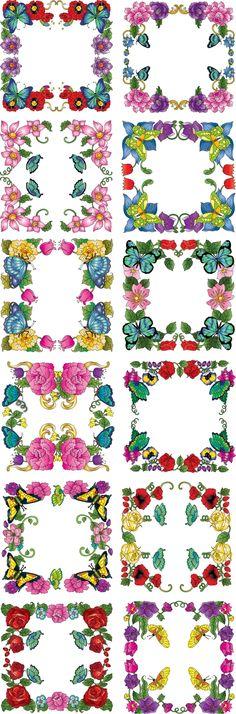 Diddybag Set 13584 - SE Butterfly Dreamz Frames