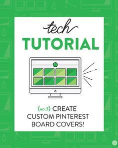 Wanna do a little #Pinterest overhaul? Check out Lindsay Goldner's Tech Tutorial: Creating Custom Pinterest Board Covers - Lindsay Goldner Creative