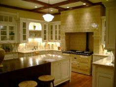 """Kitchen from """"Practical Magic""""."""