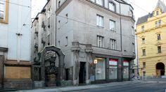 Casa Diamant - Architetti: Emil Králíček e Matěj Blecha  - 1913 - Praga, via Spálená 82