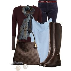 Day two( my outfit for today), created by cw21013 on Polyvore