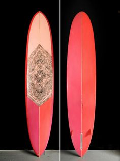 Custom surfboard by Hawaiian artist Keith Tallet...beautiful
