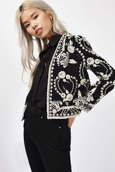 Lace Bed Jacket - New In This Week - New In - Topshop                                                                                                                                                                                 More
