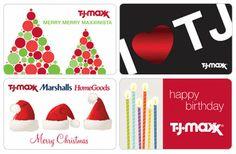 Loves me some TJ Maxx / Gift Cards - T.J.Maxx