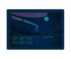 The new Norwegian Passport, norway   Under a black light, the landscape reveals the Northern Lights. Great security idea with a great execution.
