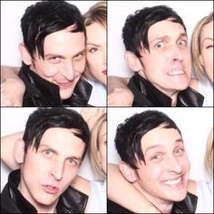 Gotham Wrap Party. Fox. Robin Lord Taylor. Oswald Cobblepot.