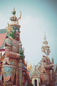 The Grand Palace of Bangkok. Thailand.