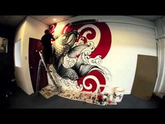 WALL ART by DONALD TATTOO - YouTube