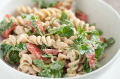 Arugula and Goat Cheese Pasta Salad - I made this tonight. It's super easy and delicious!!
