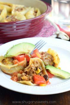 17. Stuffed (Taco) Shells #freezermeals #frozenfood http://greatist.com/eat/healthy-freezer-meals