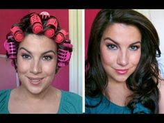 This is How I Roll (Hot Rollers Tutorial) hair-ideas