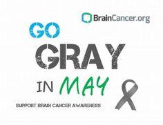 BrainCancer.org Go Gray in May
