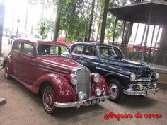 Mercedes benz 170 s e Plymouth special deluxe - Arquivo do Carro