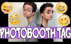 PHOTOBOOTH TAG | KIAN LAWLEY & RICKY DILLON literally one of the funniest things I have watched in a while. I was laughing way to hard at this...