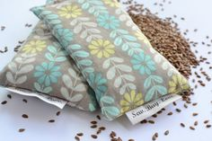 Flaxseed and lavender dryer sachet