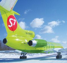S7 Airlines Tupolev TU-154M
