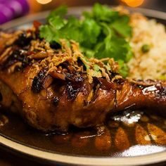 Try this Filipino Adobo Chicken recipe by Chef Adrian Richardson. This recipe is from the show Secret Meat Business.