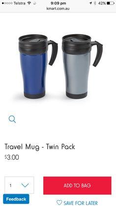 Travel Mug, Camping, Mugs, Tableware, Dinnerware, Cups, Tumblers, Dishes, Mug
