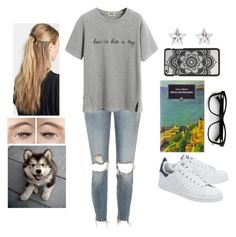 """""""Park Buddies ♥ (Book of the Week - The Spider Web, Cella Serghi)"""" by teodoramaria98 ❤ liked on Polyvore featuring River Island, adidas Originals, Chicnova Fashion, France Luxe and Marc Jacobs"""