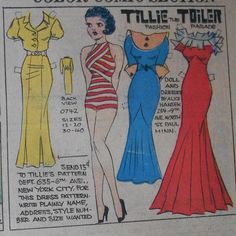Tillie the Toiler 8-4-35 From Ebay
