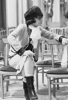 Coco Chanel photographed by Shahrokh Hatami, ca. 1960